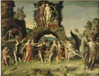Andrea Mantegna - Le Parnasse 1496-1497 env.