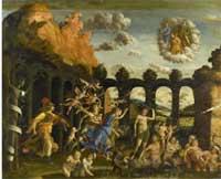 Andrea Mantegna - Minerve chassant les Vices du jardin de la Vertu