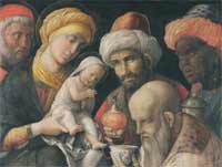 Andrea Mantegna - L'Adoration des Mages