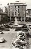 La piazza Fontana